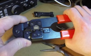 Crimping the RJ-45 End